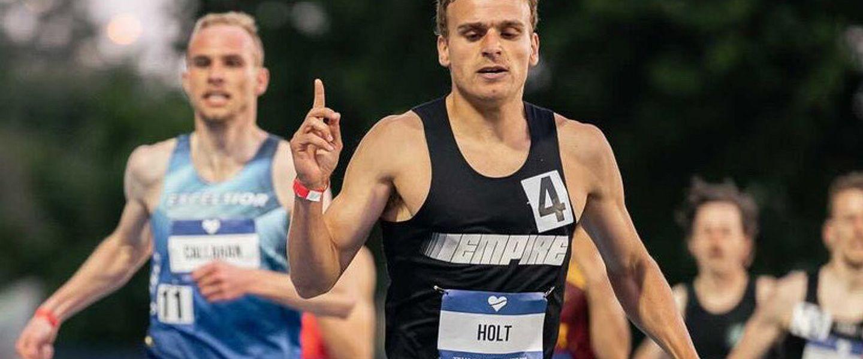 Empire Elite Track Club athlete Eric Holt