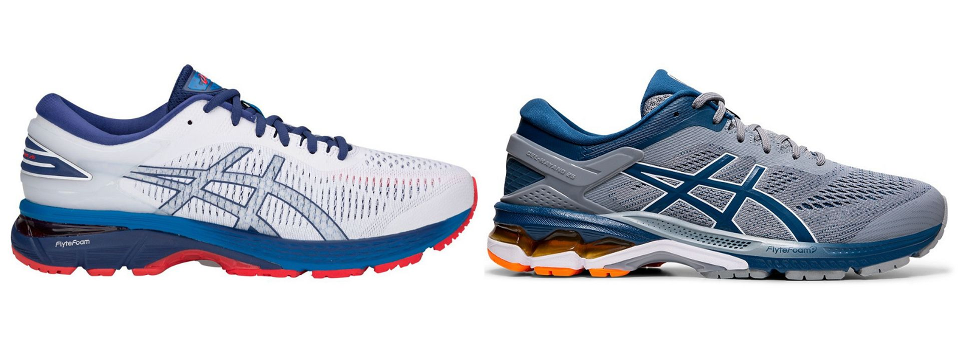 gel kayano 24 vs 25