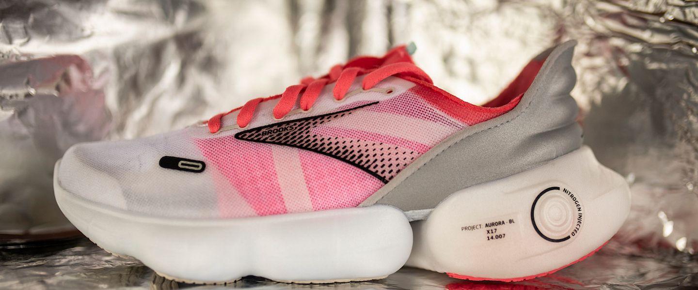 The Brooks Aurora running shoes