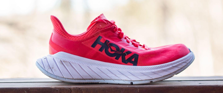 The women's HOKA Carbon X 2 running shoe