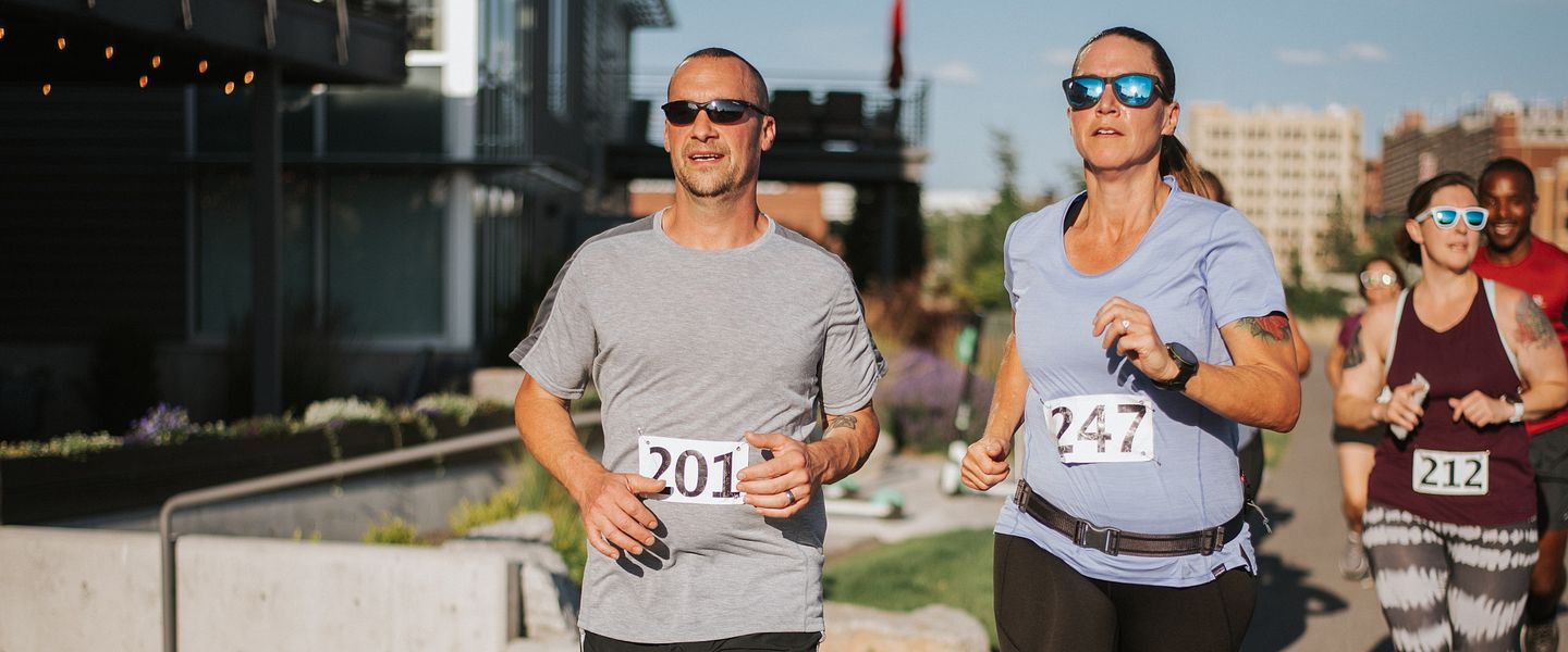Masthead Runners complete a 5K race