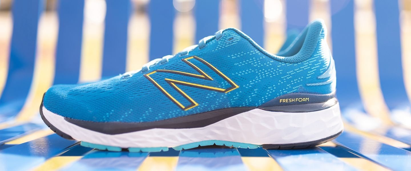 The New Balance 880v11 running shoe in blue