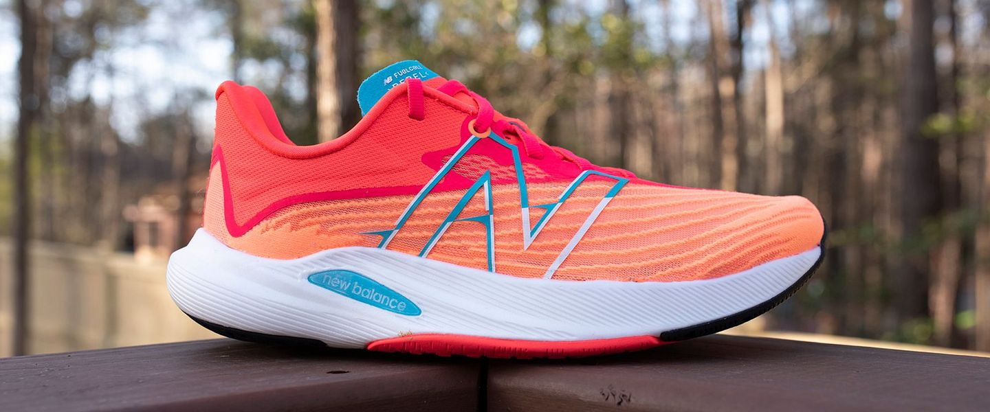The women's New Balance FuelCell Rebel v2