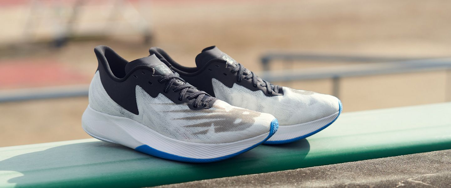 The New Balance FuelCell TC running shoes
