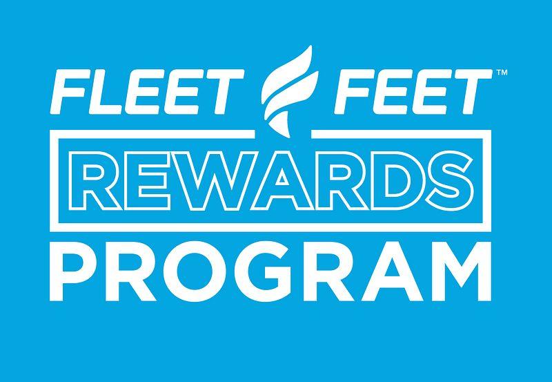 Fleet Feet Rewards Program logo
