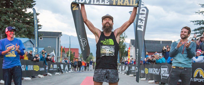 Ultrarunner Rob Krar wins the Leadville Trail 100 Run