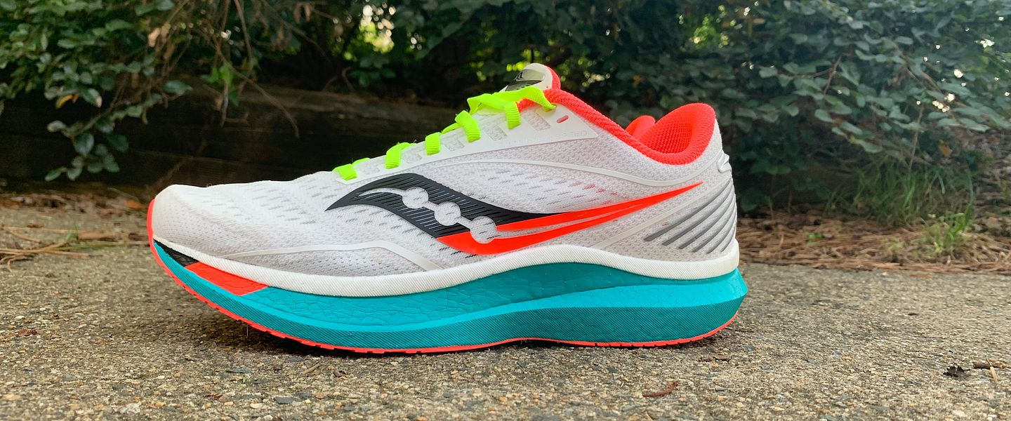 The Saucony Endorphin Speed running shoe