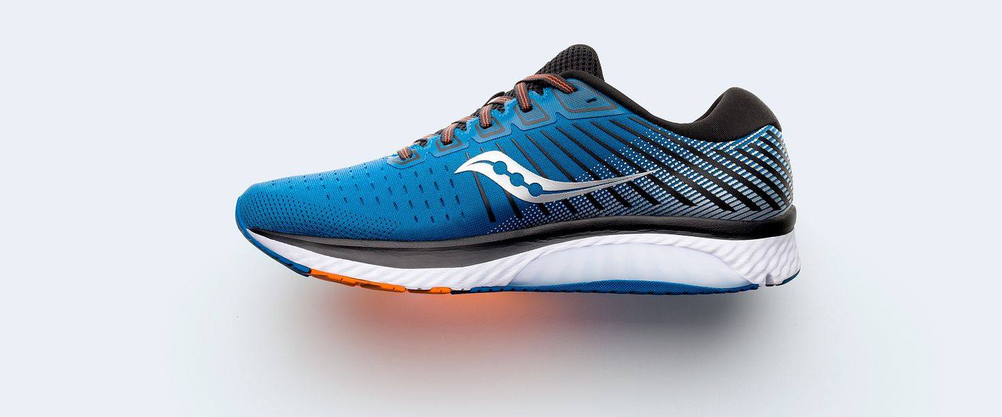 The men's Saucony Guide 13 in blue