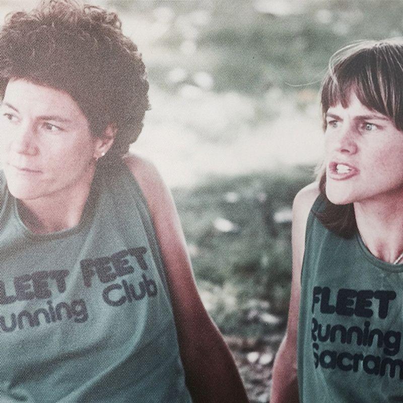 Fleet Feet founders Sally Edwards and Elizabeth Jansen
