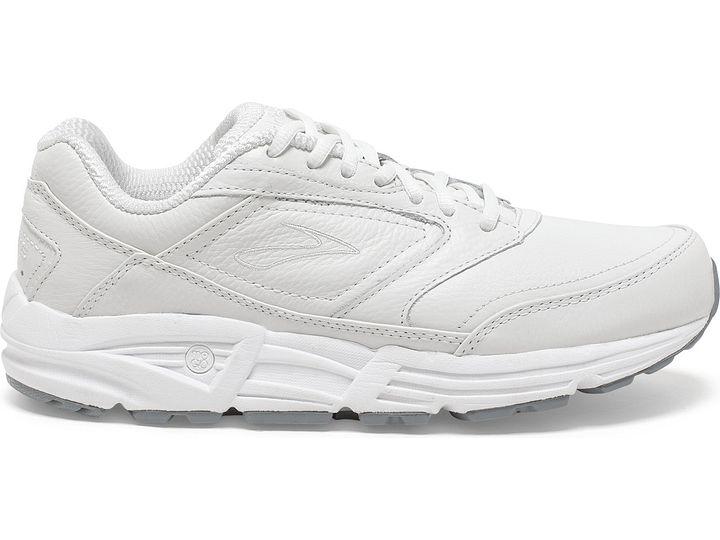 Brooks Women/'s Addiction Walker Walking Shoes White 2A Width