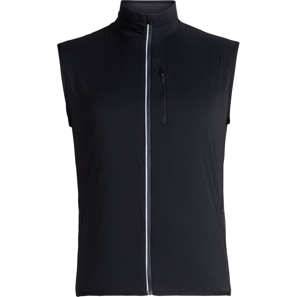 Icebreaker Herren Tech Trainer Hybrid Vest Weste Black//Jet Hthr