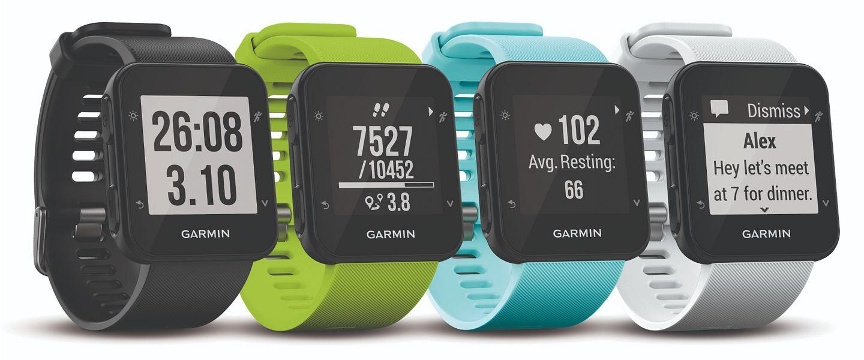 Collection of Garmin Forerunner 35 GPS running watches