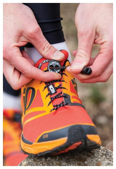 Outdoor Recreation Nathan Reflective Accessories Elastic No Tie Shoe Laces for Running and ...