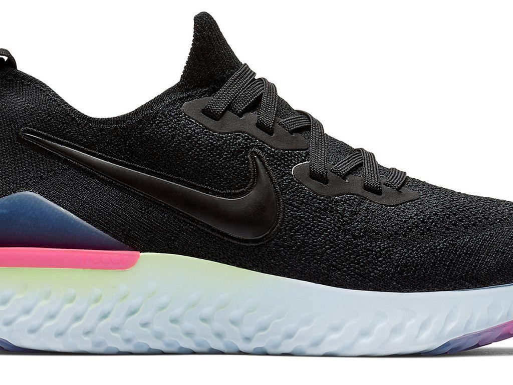 epic react flyknit women's running sneakers