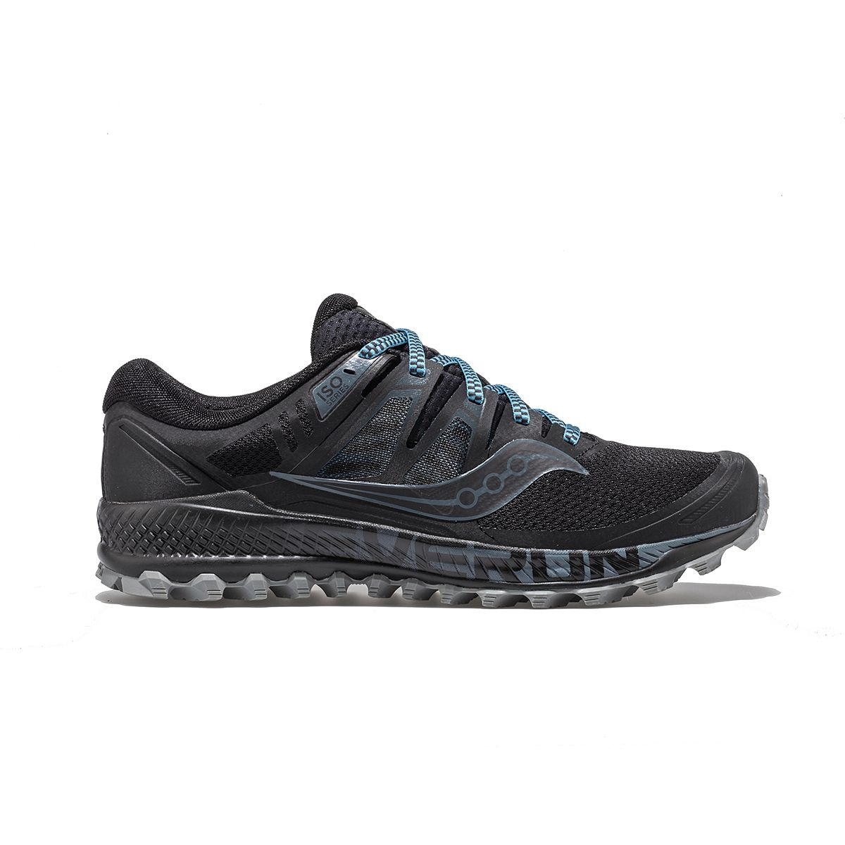 Saucony Peregrine 8 Men/'s Running Shoes Grey//Black//Green Size 10.5 M